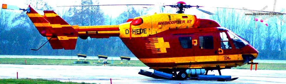 BK117 Medicopter