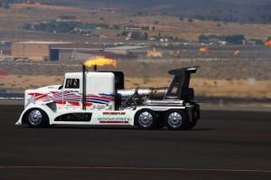 turboreactor truck