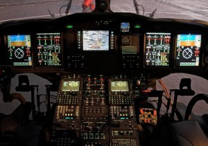 AW139 civil cockpit