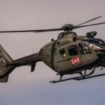 EC635 on transport and surveillance mission at Axalp Fliegerschiessen 2012