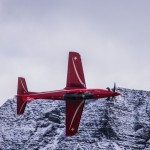 Pilatus PC-21 display at Axalp 2012