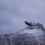 Saab Gripen F flight demo at Axalp 2012