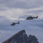 Cougar AS532 UL and EC635 at Axalp 2012