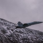 F/A-18C flight display