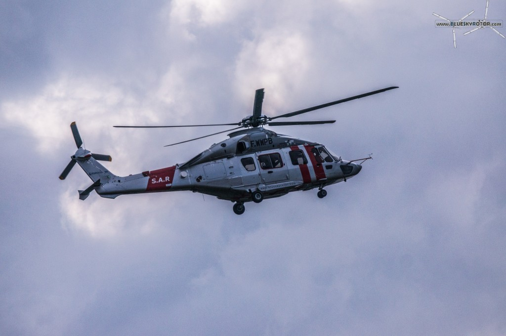 EC175 prototype in flight