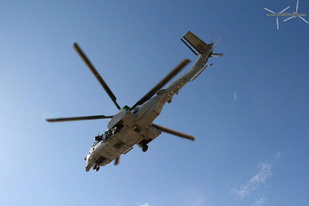 EC725 Caracal flying for the French forces in Afghanistan
