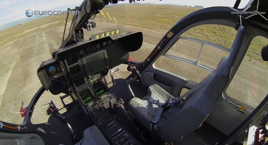 EC145 cockpit, Optionnally Piloted Vehicle