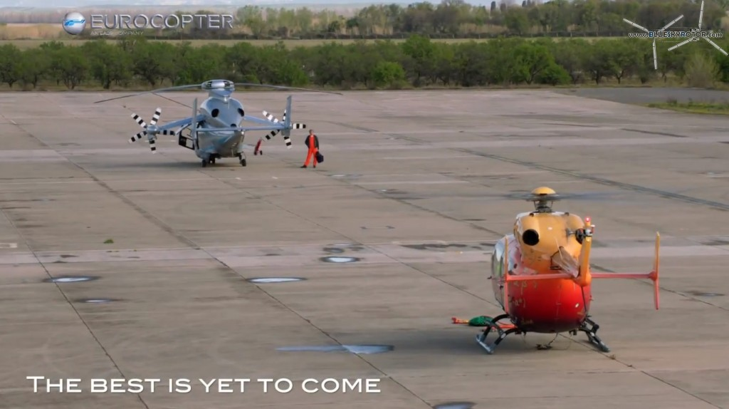 "X3 and EC145 OPV on ground -""the best is yet to come"""