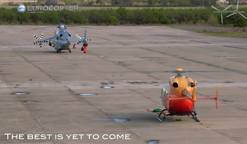 EC145 OPV and X3 in Istres