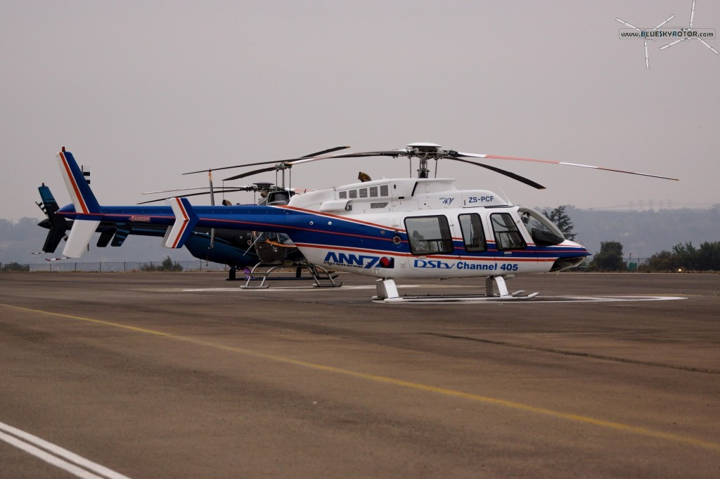 Bell 407 at FAGC airport, Gauteng province, South Africa