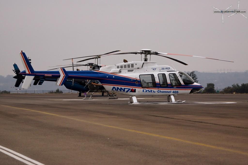 Bell 407 at FAGC airport, Gauteng province, South Africa