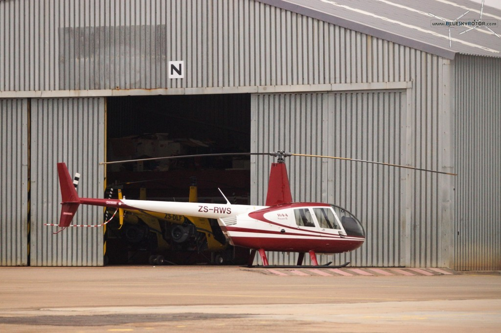 R44 at FAGC airport, Gauteng province, South Africa
