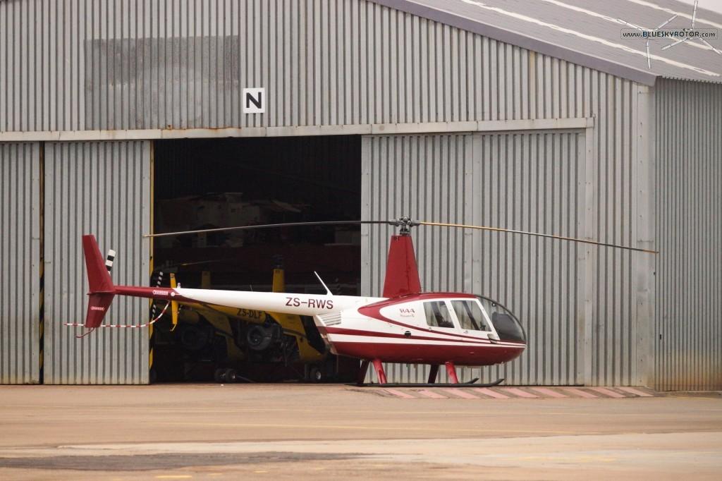 R44 at FAGC airport, Gauteng province, South Africa
