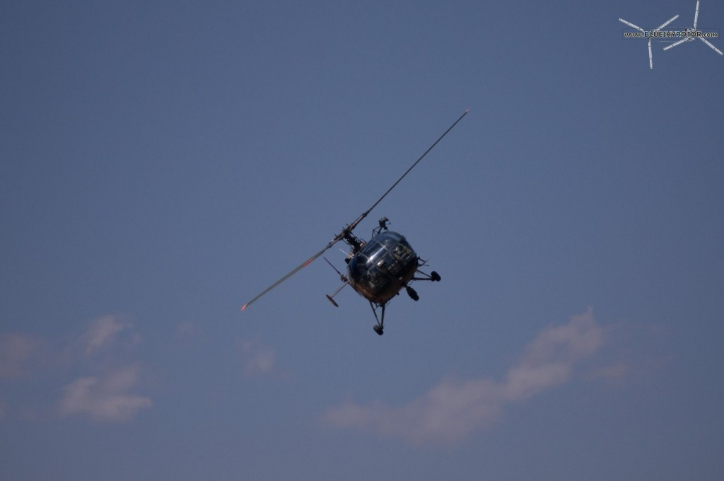 Alouette III in flight