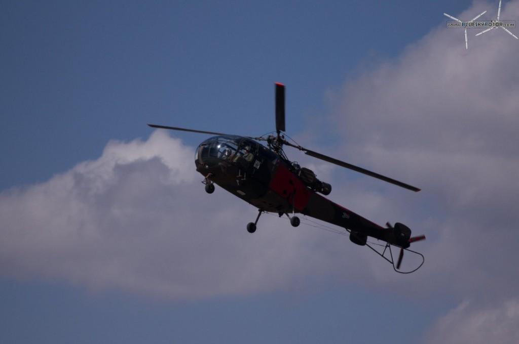Alouette III landing