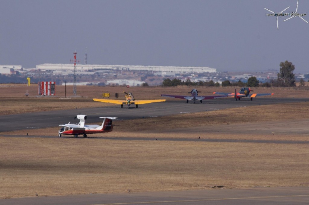 Harvard taxiing