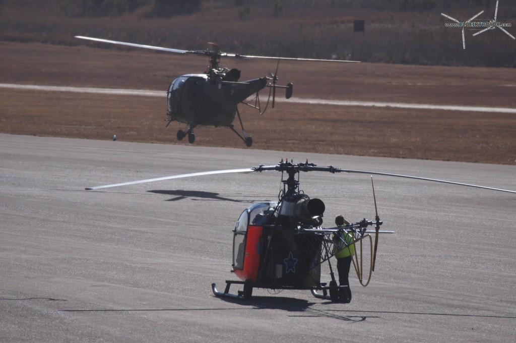 Zwartkop South African Air Force Base, Alouette II and Alouette III