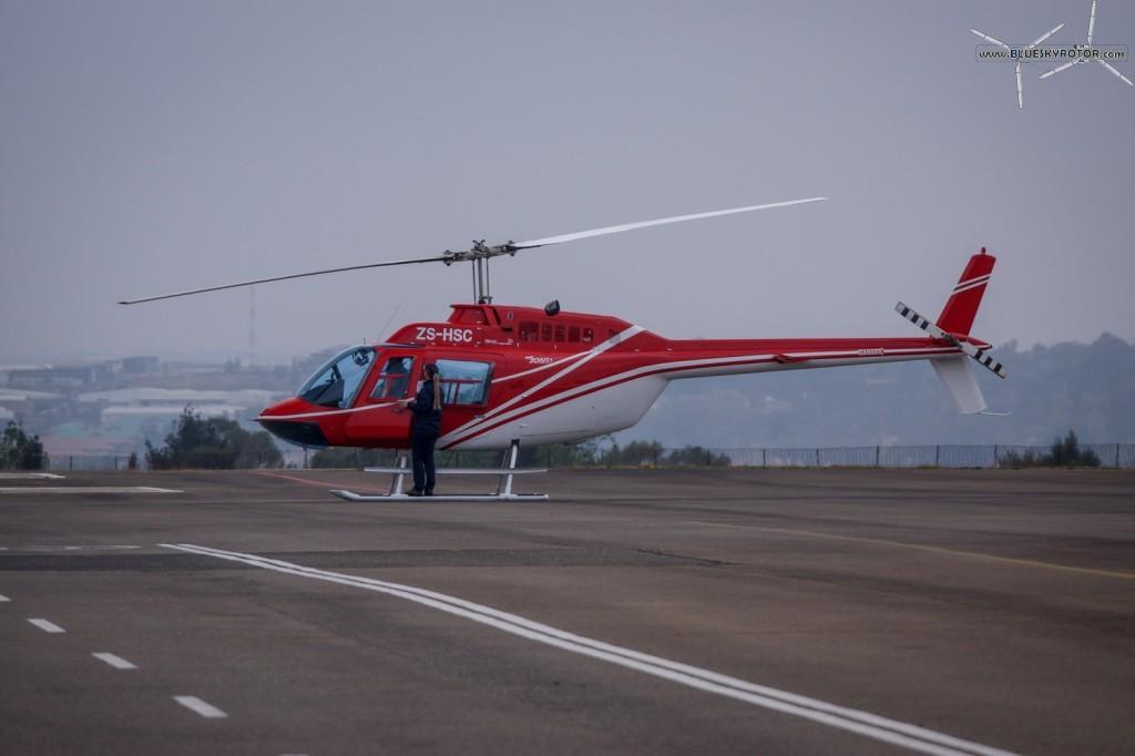 ZS-HSC, Bell 206 B3, Jet Ranger III