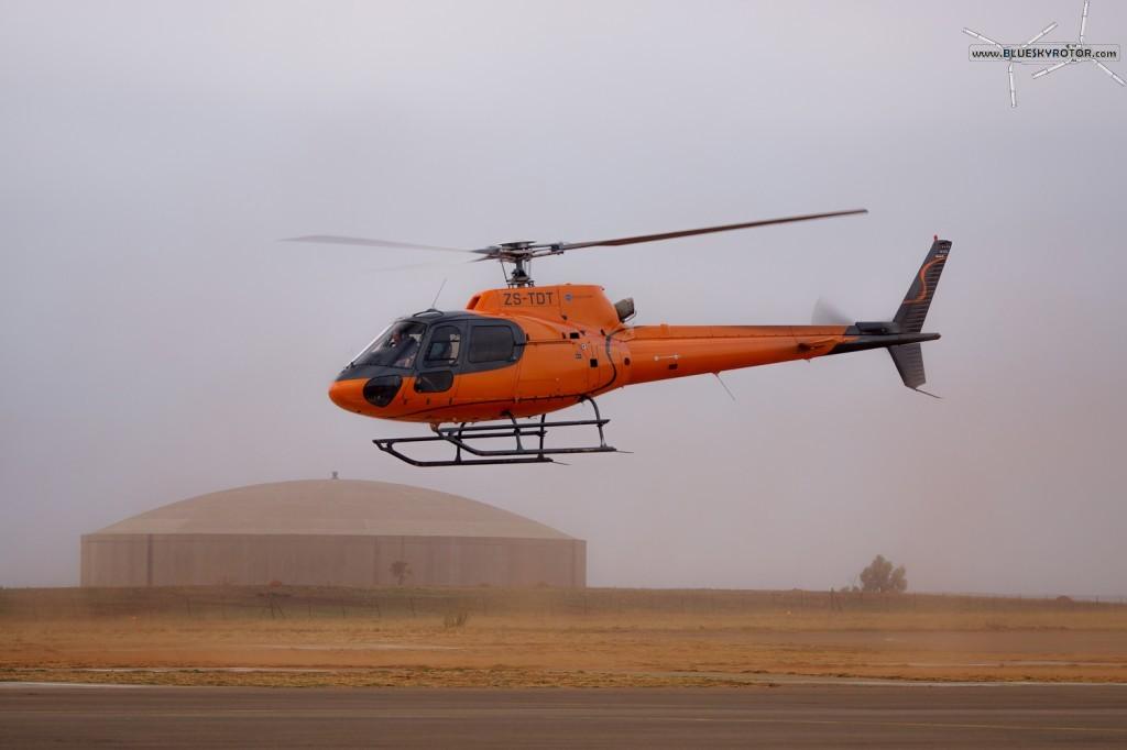ZS-TDT, Ecureuil AS350
