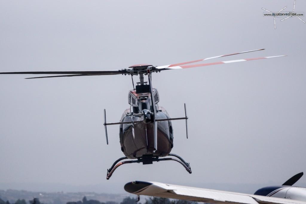 ZS-CGV, Bell 407