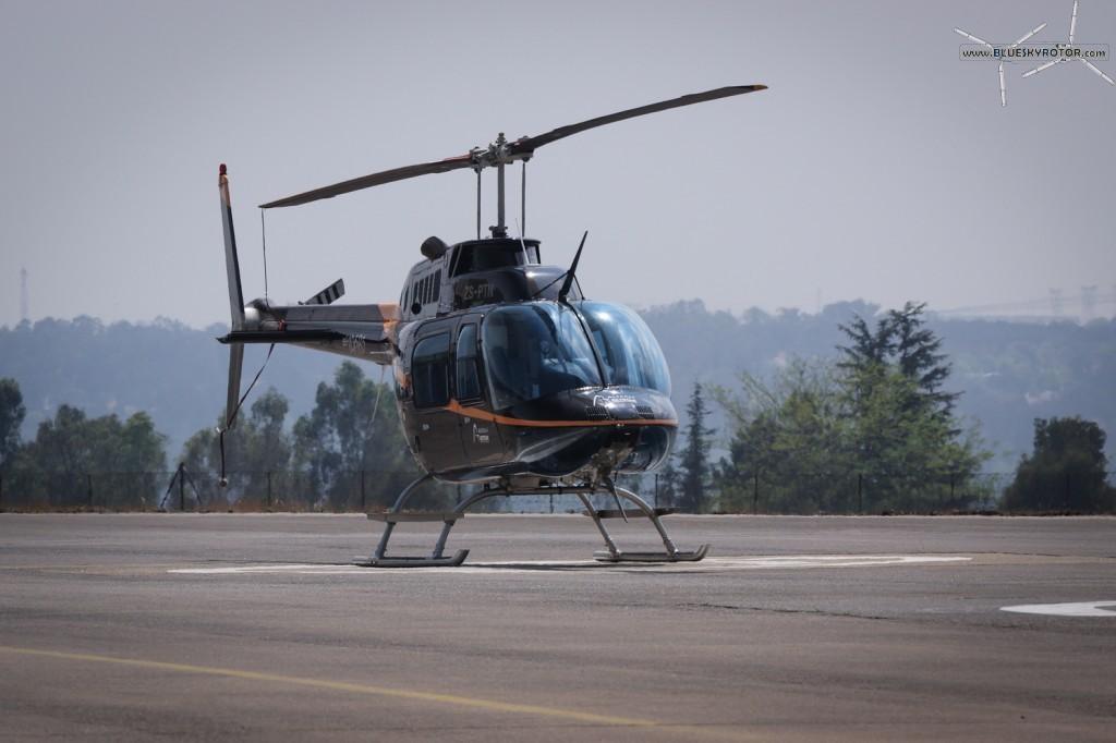 ZS-PTN, Bell 206 B3
