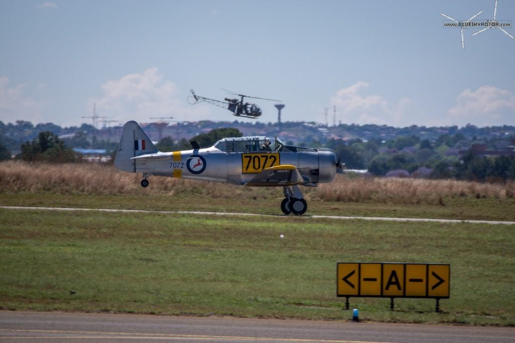 Harvard and Alouette II