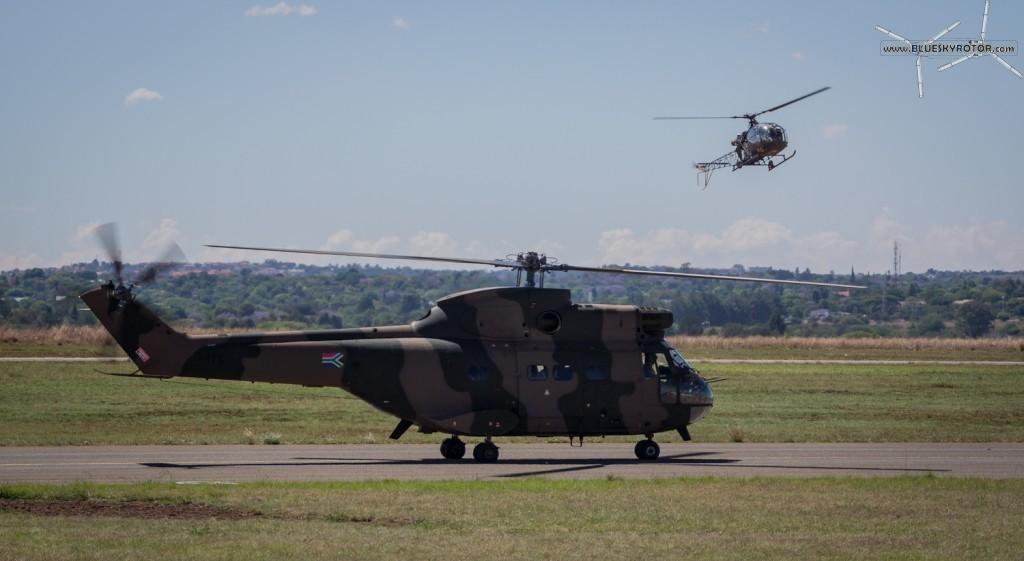 Puma and Alouette II