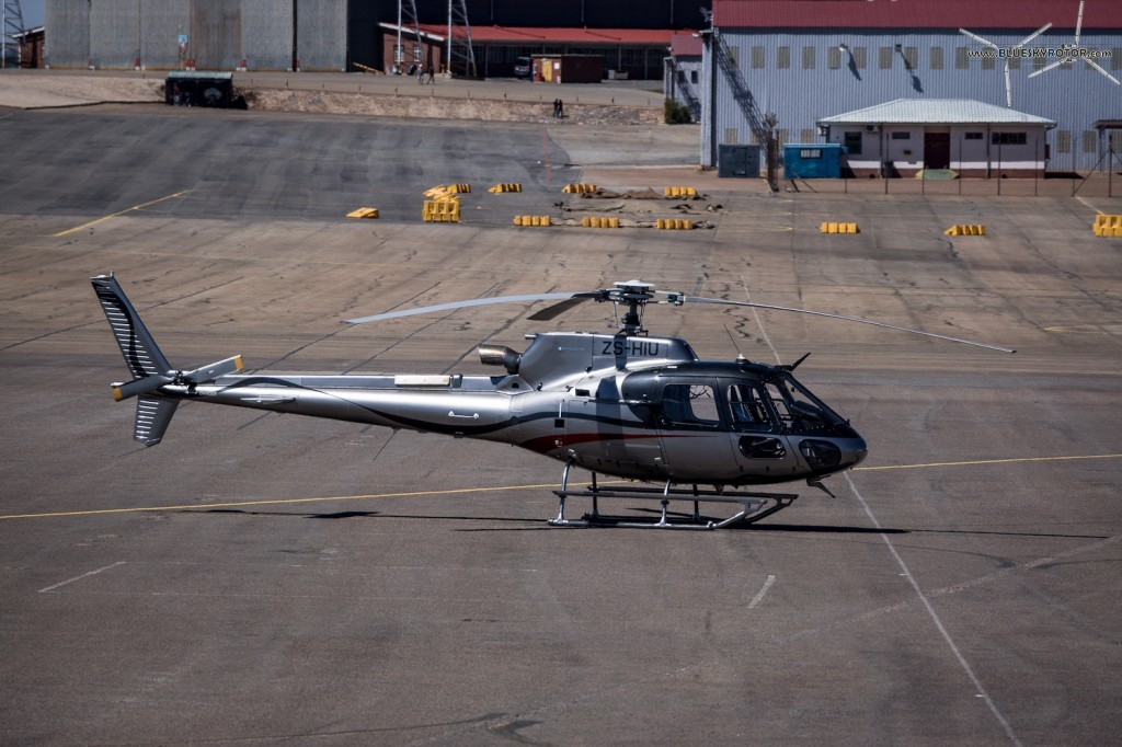 ZS-HIU, Ecureuil AS350 B3e