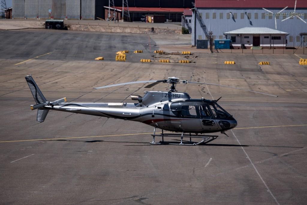 ZS-HIU, Ecureuil AS350 B3e