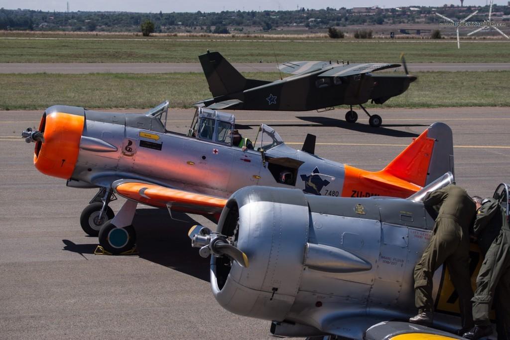 Harvard and Pilatus PC-6