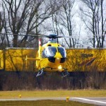 Eurocopter EC135 in flight