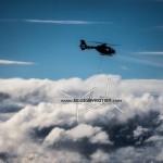 Swiss Eurocopter EC635 in flight
