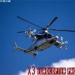 Eurocopter X3 prototype in flight