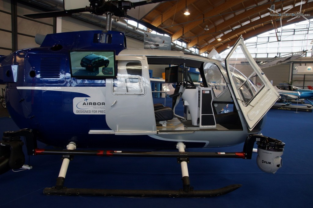 Airborne Technologies Bo105 Mockup