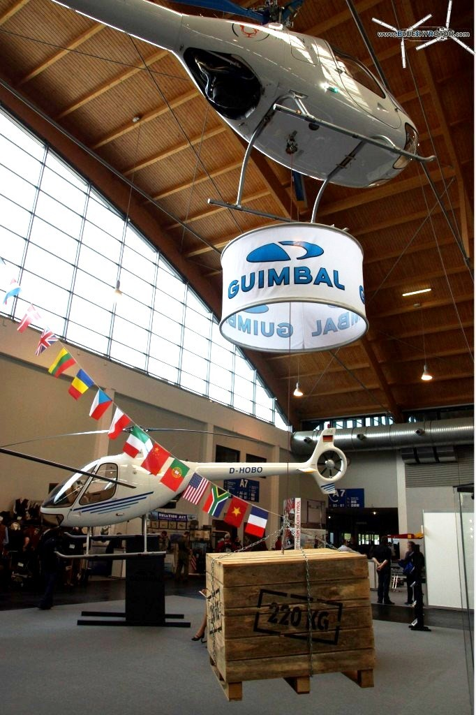 GUIMBAL Cabri with 220kg hoist