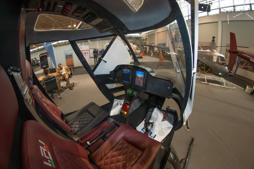 IRI T-Line, cockpit interior