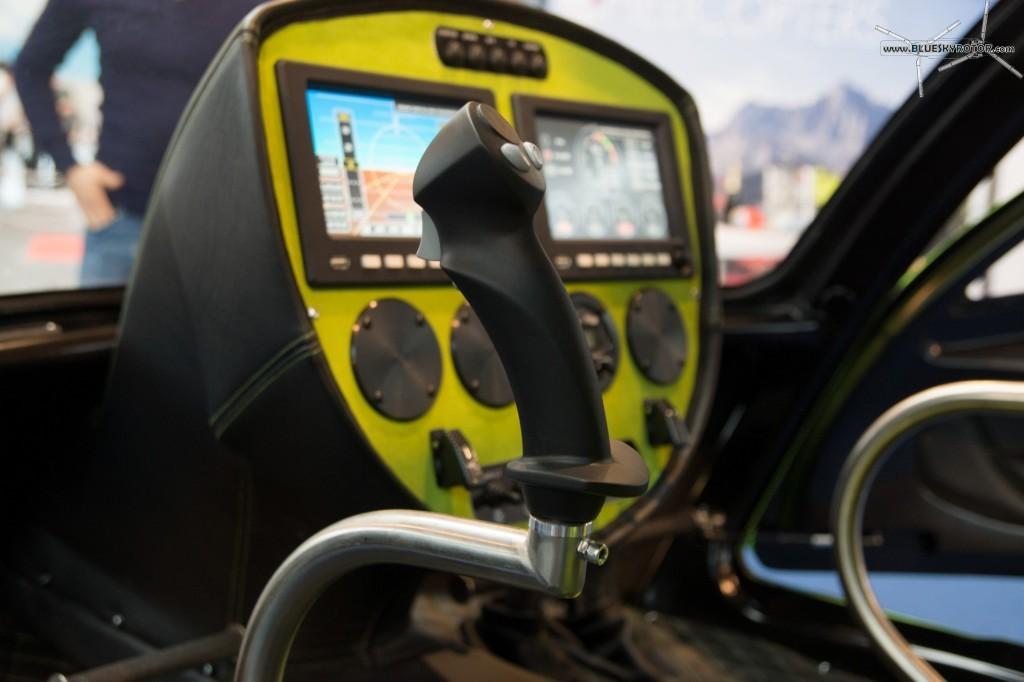 Konner K1, detail of the joystick