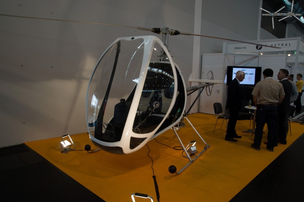 DYNALI H3 with an open canopy