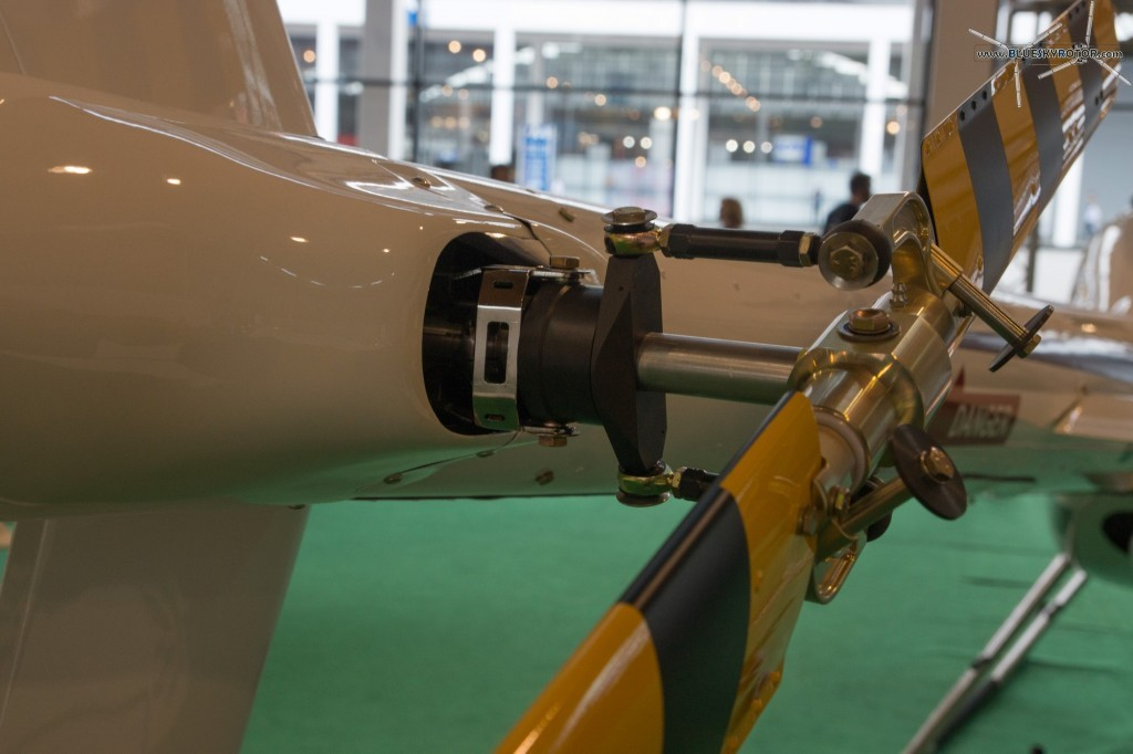 Syton AH130, detail of the tail rotor