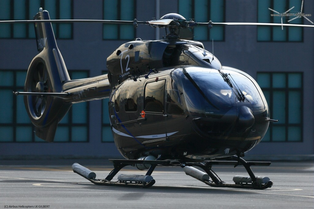 EC145 T2 D-HADW during demo tour in Asia