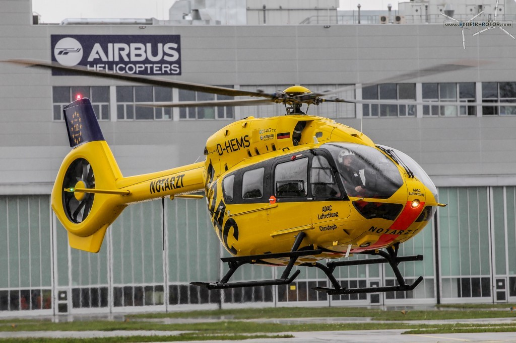 EC145 T2 delivery to ADAC (Germany)