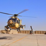 EC635 Iraq take-off 55th attack squadron