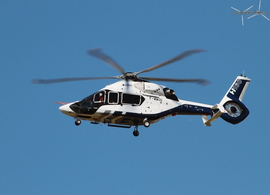 Maiden flight of the Airbus Helicopters H160 (copyright Max Moutoussamy)