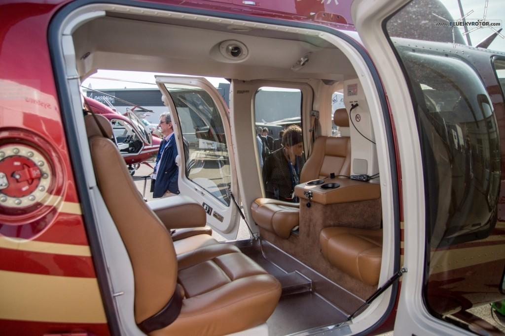 Bell 407 GX, VIP cabin