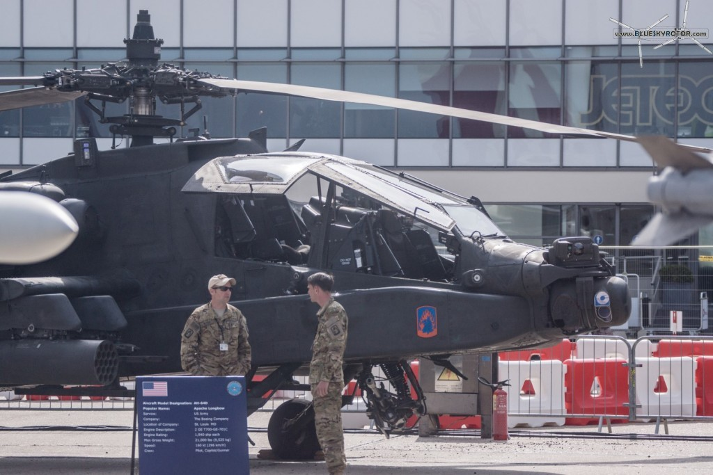 AH-64 D Apache, US Army