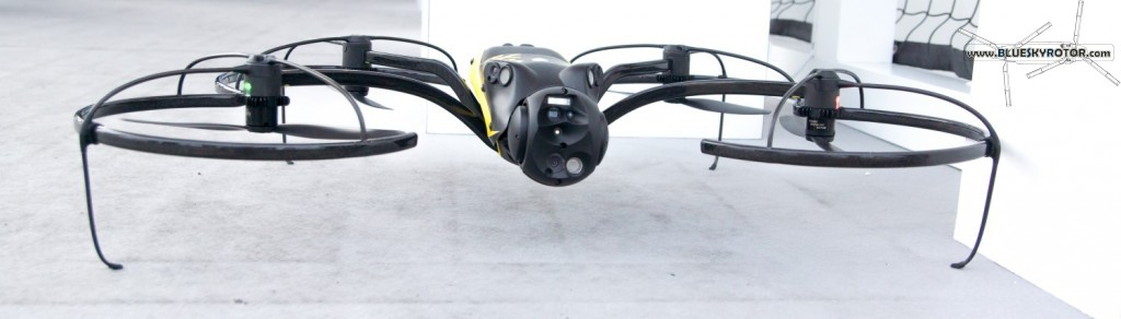 eXom drone with TV and IR cameras