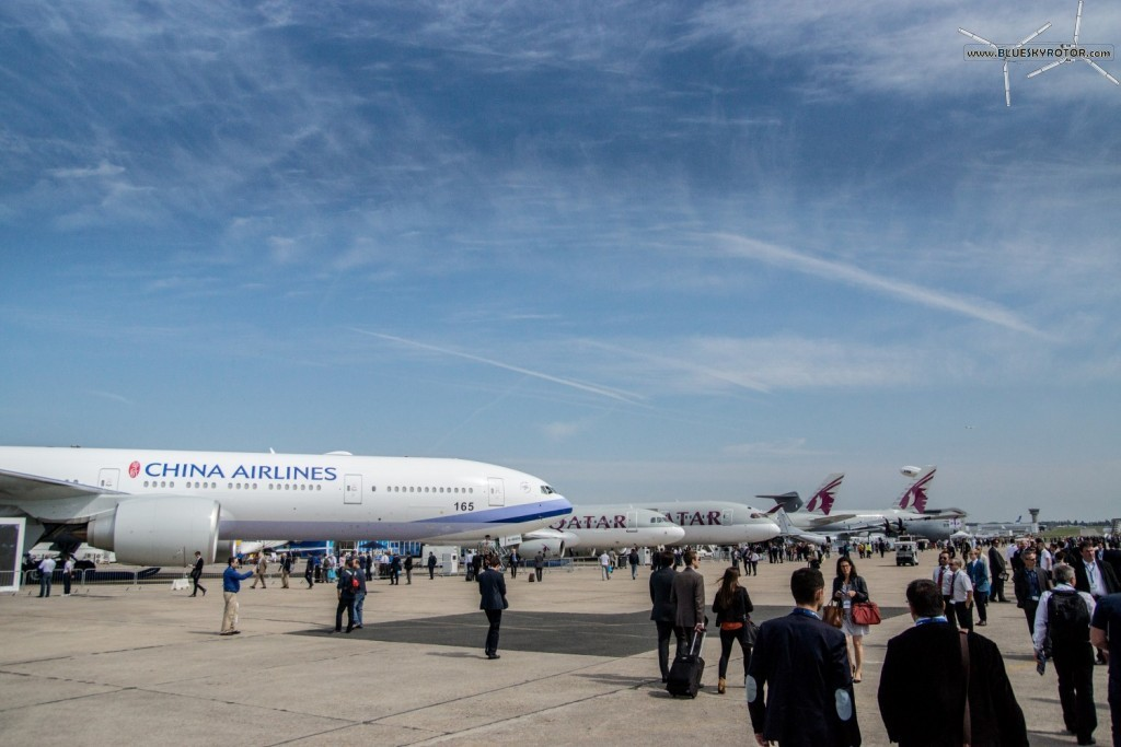 Paris Air Show: mostly planes