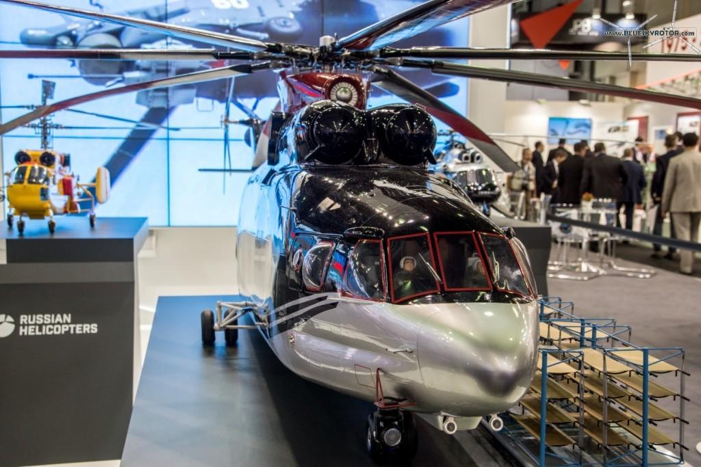 Mi-26 T2 mock-up