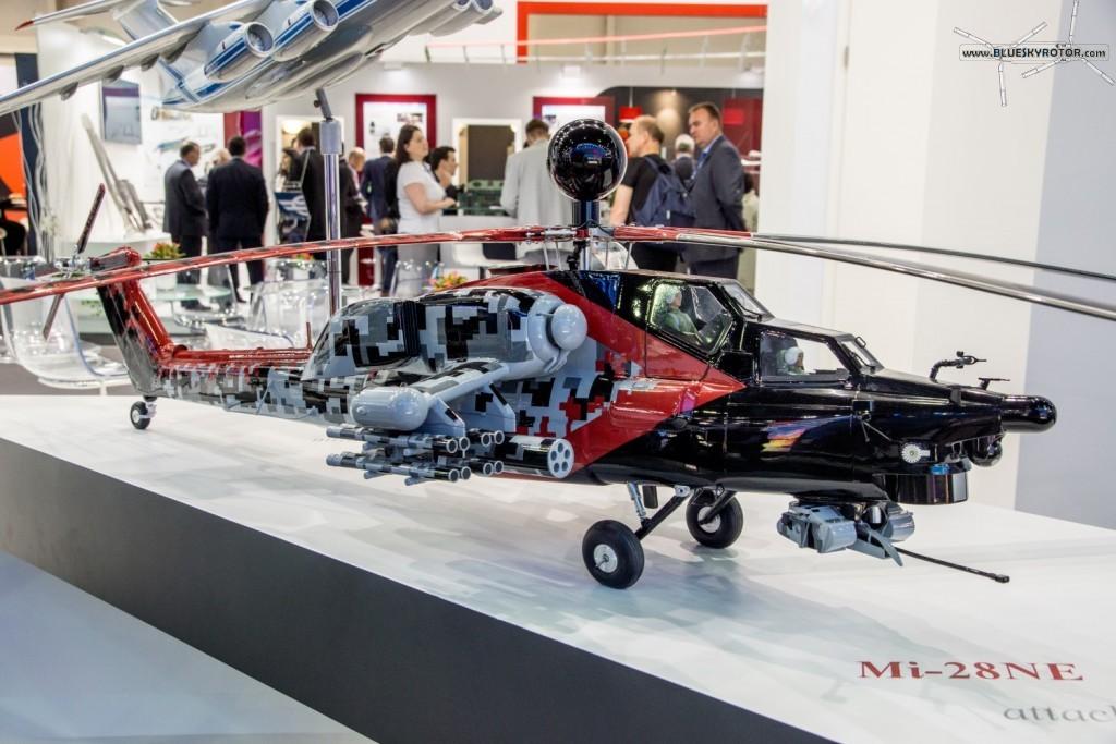 Mi-28 NE mock-up