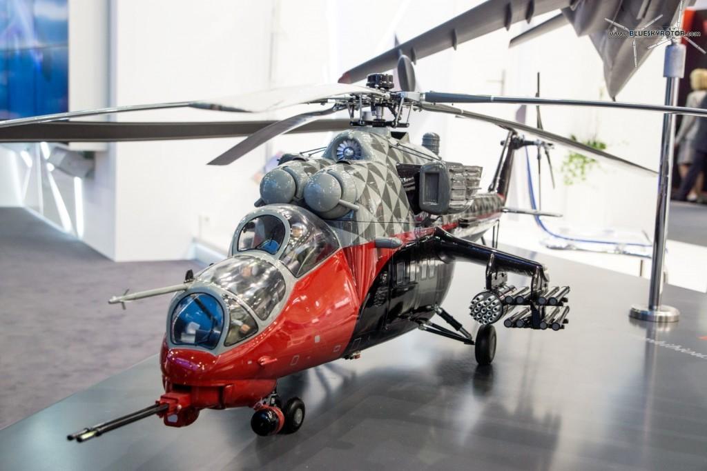 Mi-35 M mock-up